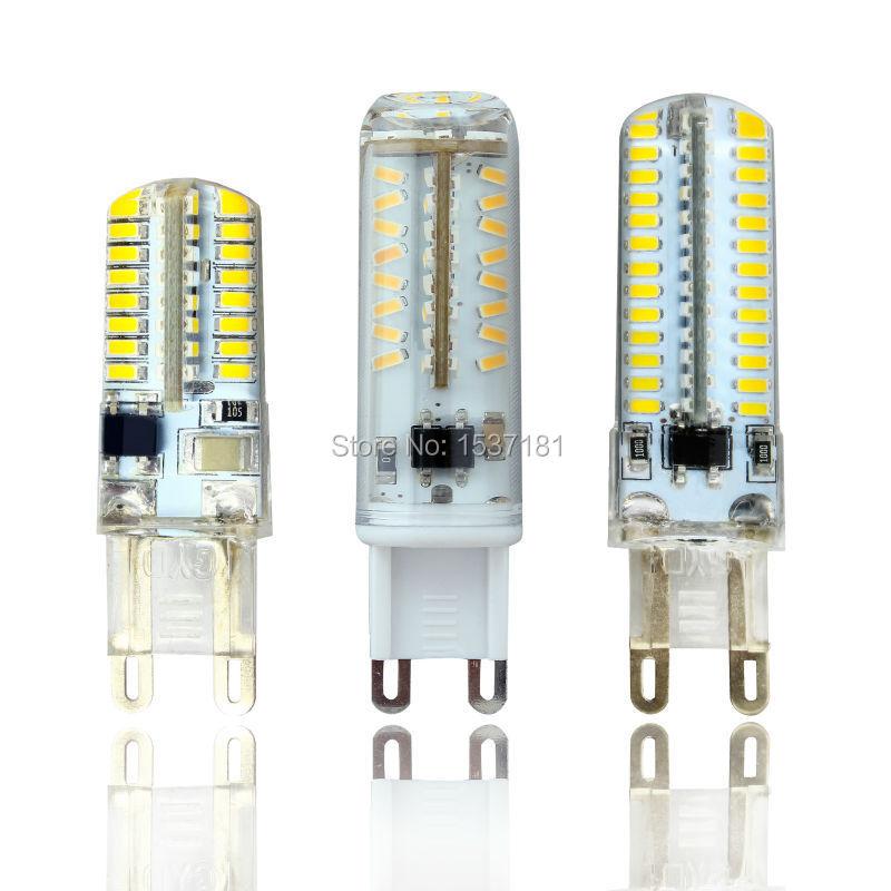 G9 LED Bulb 220V 5W 8W 9W LED Lamp 64 104 70 SMD 3014 Replace Halogen LED light 360 degree Beam Angle led spotlight lamps(China (Mainland))
