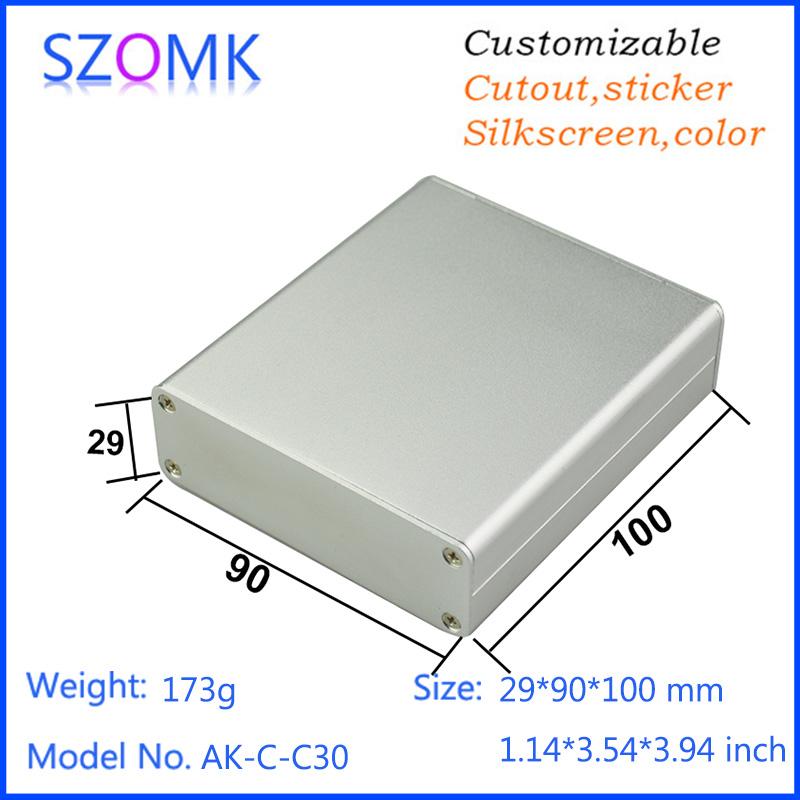 1 piece aluminum  instrument case 29*90*100mm 1.14*3.54*3.94inch  instrument case  <br><br>Aliexpress