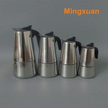 Stainless Steel Moka Espresso Latte Percolator Stove Top Coffee Maker Pot(China (Mainland))