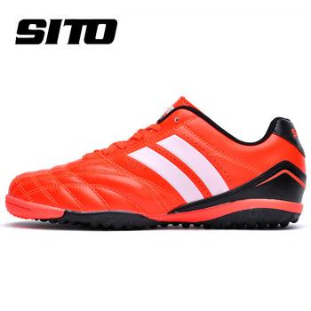 2016 Новое Прибытие счетчики подлинные Ares серии искусственная трава футбольные бутсы кожа кроссовки Без скольжения футбольные обувь