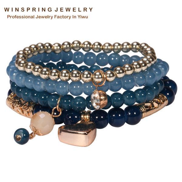 Hot Indonesia Beads Bangles Bracelet Women Fashion...