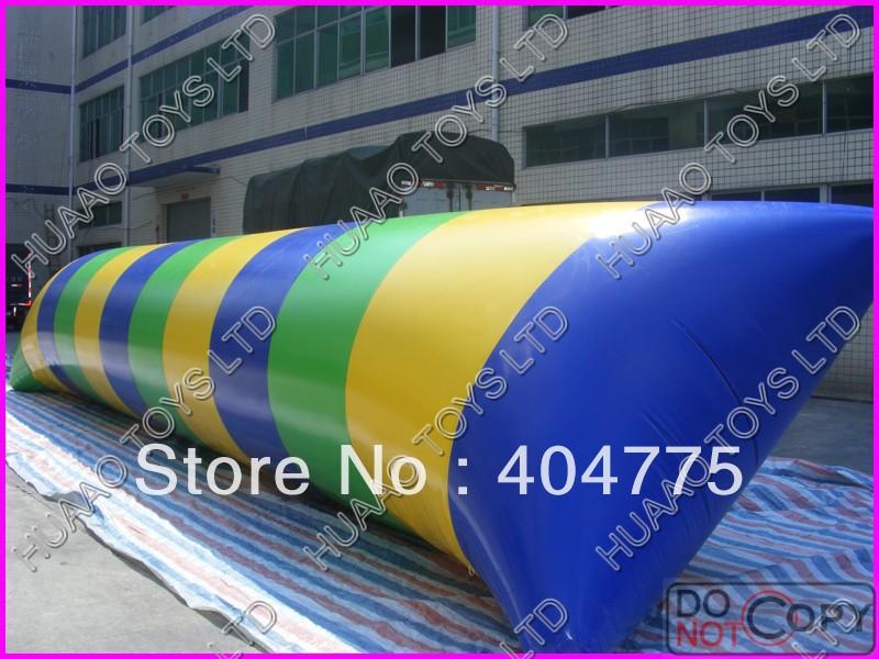 free shipping 12x3x2m water blob+1 CE/UL air pump+Repair kit(China (Mainland))
