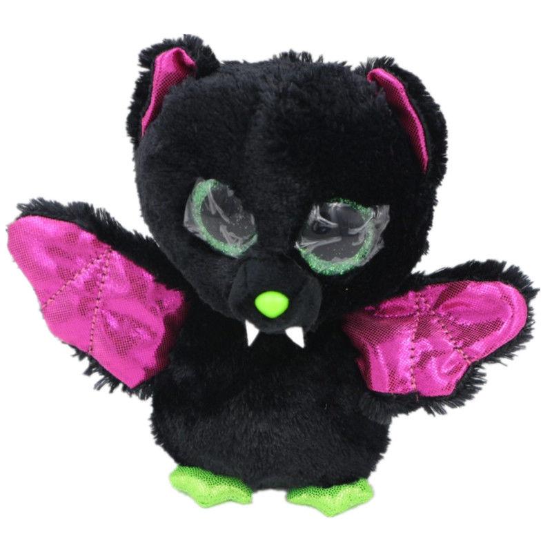 new TY Beanie Boos bat unicorn Stuffed Plush Animals one piece 15cm Soft Mini baby lovely troll doll hot toy china(China (Mainland))