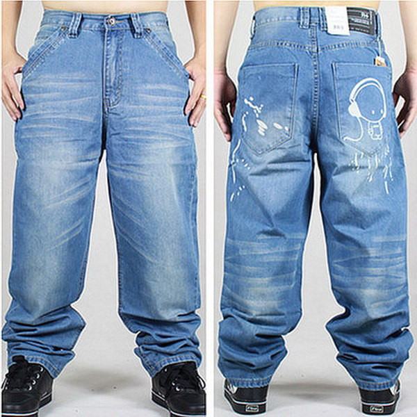 Popular Mens Jeans Baggy Fit-Buy Cheap Mens Jeans Baggy Fit lots ...