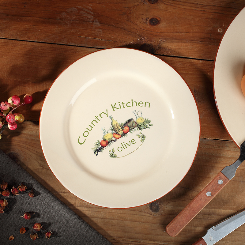 Acquista all 39 ingrosso online personalizzato piatto di ceramica da grossisti personalizzato - Ingrosso bevande piano tavola ...