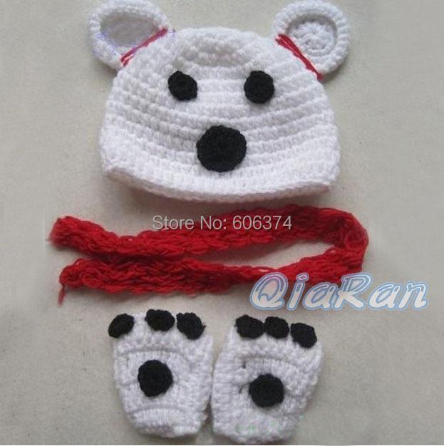 Милая собака дизайн шлема вязания крючком комплект ребенок ручной работы крышка и обувь новорожденного щенок фотографии реквизит трикотажные шапочки костюм