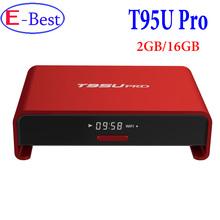 Buy Genuine T95U Pro 2GB/16GB Amlogic S912 OCTA Core Android 6.0 Smart TV Box 4K H.265,5G-Wifi Kodi 17.0 Fully Loaded,Set Top Box for $66.99 in AliExpress store