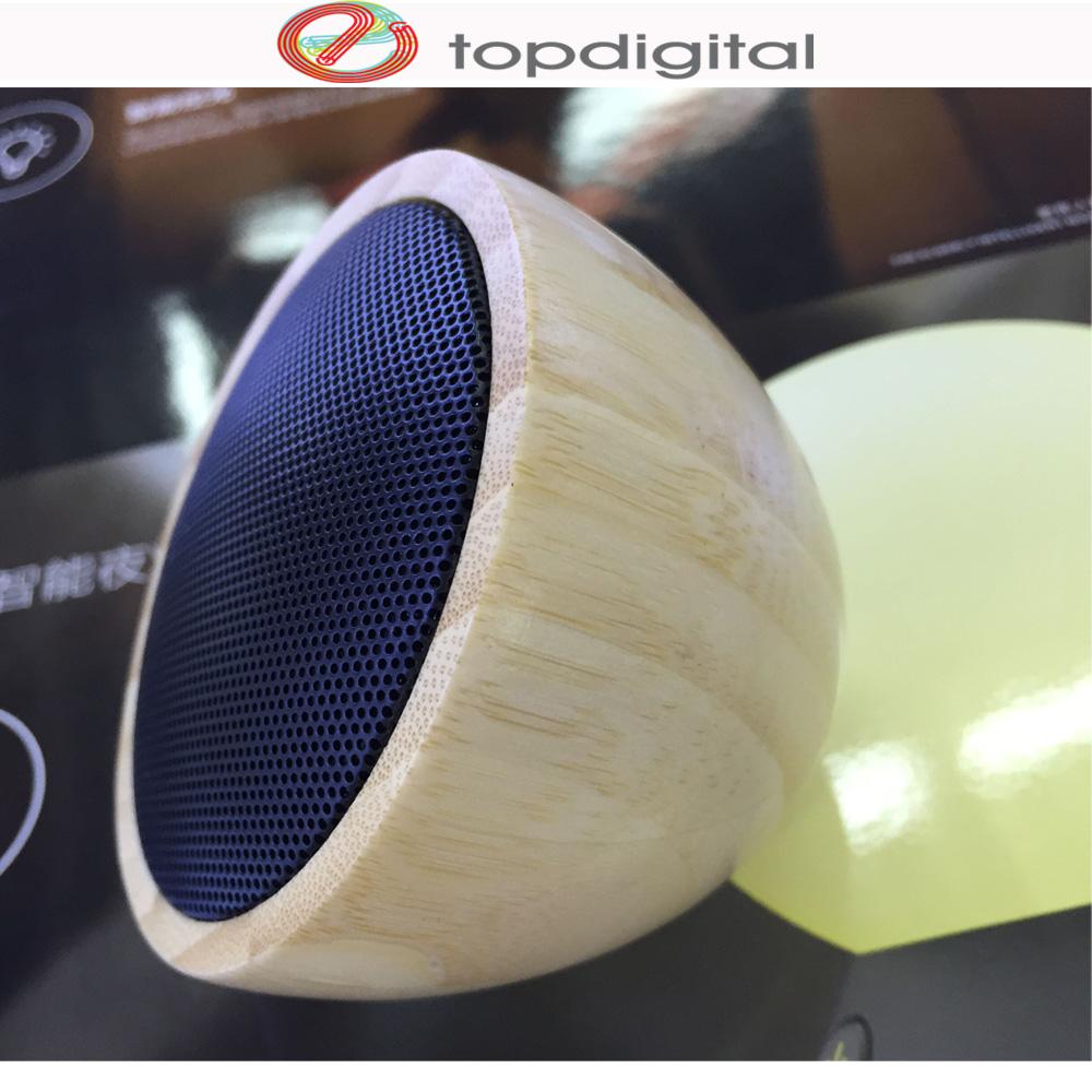 100% Natural Genuine Wood Wireless Speaker Handmade Mini Bluetooth Wooden Speaker Portable Sound Box for iPhone Samsung HTC SONY(China (Mainland))