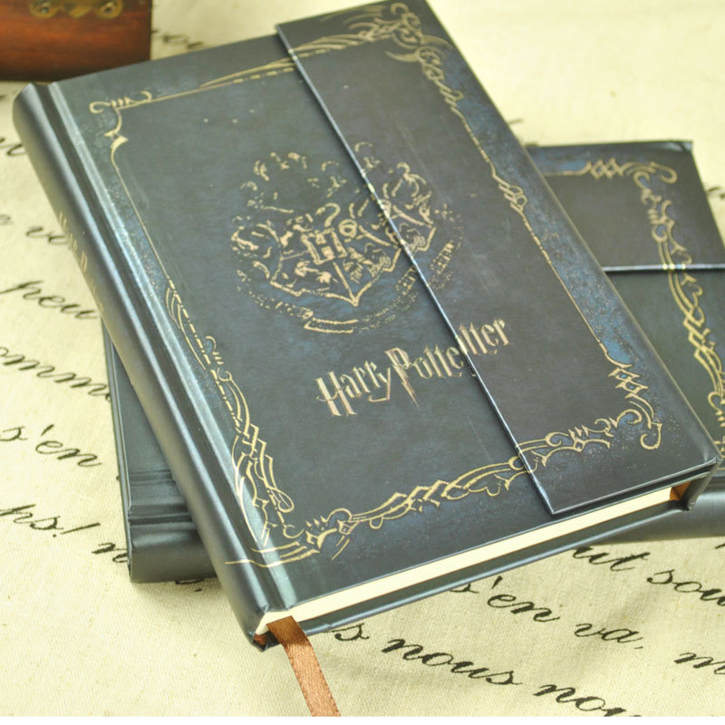 Harry Potter Book Vintage Notebook/Diary Book/Hard Cover/Notepad/Agenda Planner Gift 2015-2016-2017 calendar  -  May Tang's store store