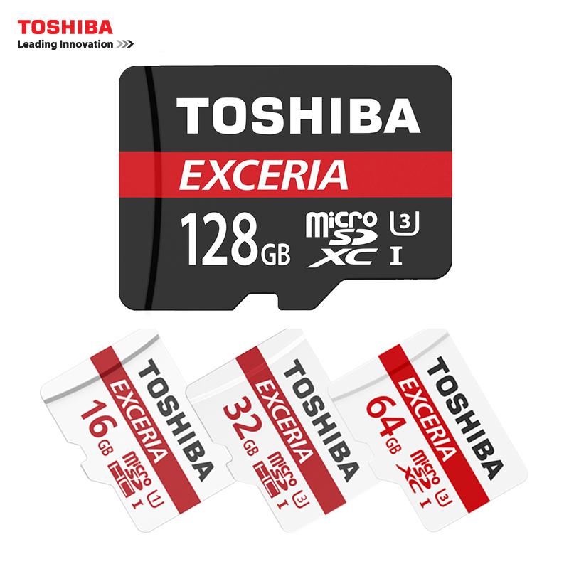 TOSHIBA micro card MicroSDXC U3 128GB 64GB Micro SDHC 32GB 16GB Class10 Max Up90M/S microSD Card Support Official Verification(China (Mainland))