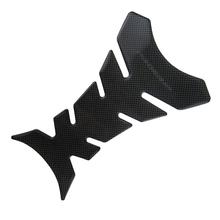 Car styling Carbon Fiber 3D Motorcycle Tank Pad Tankpad Protector Sticker For Honda kawasaki yamaha suzuki bmw Fishbone(China (Mainland))