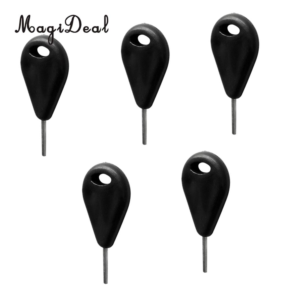 MagiDeal Pack 5 Durable Nylon Surfing Spare Fin Key Replacement for Surfboard Surf Board Wakeboard Water Sports