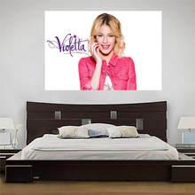 LUQI Custom Violetta Canvas Painting Wall Silk Poster cloth print DIY Fabric Poster free shipping SQ0626-BH721(China (Mainland))