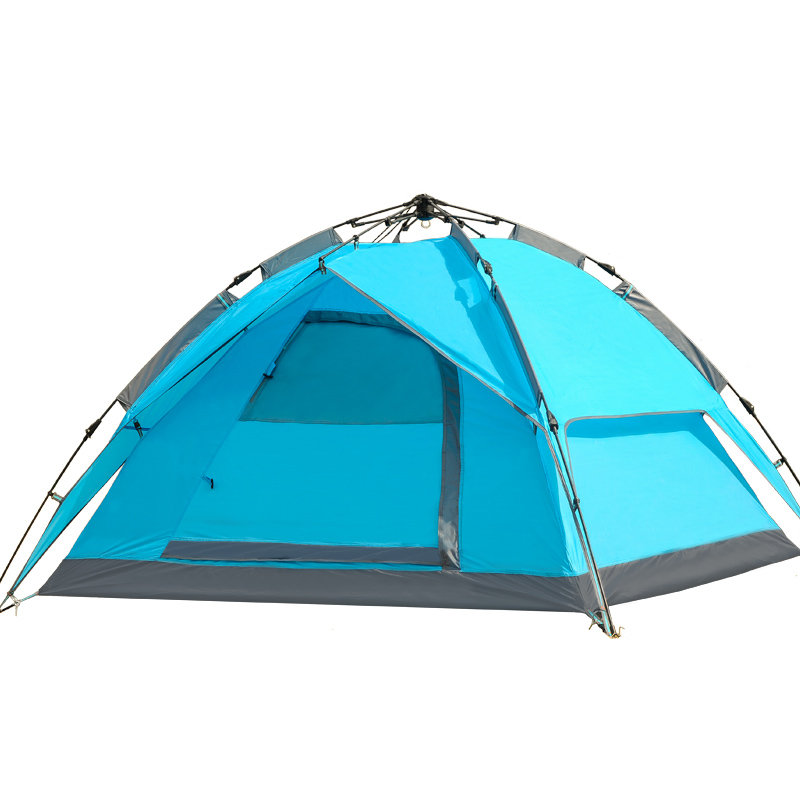Good quality double layer 3-4 person outdoor automatic camping tent ultralight winter tent sun shelter gazebo tent for camping<br><br>Aliexpress