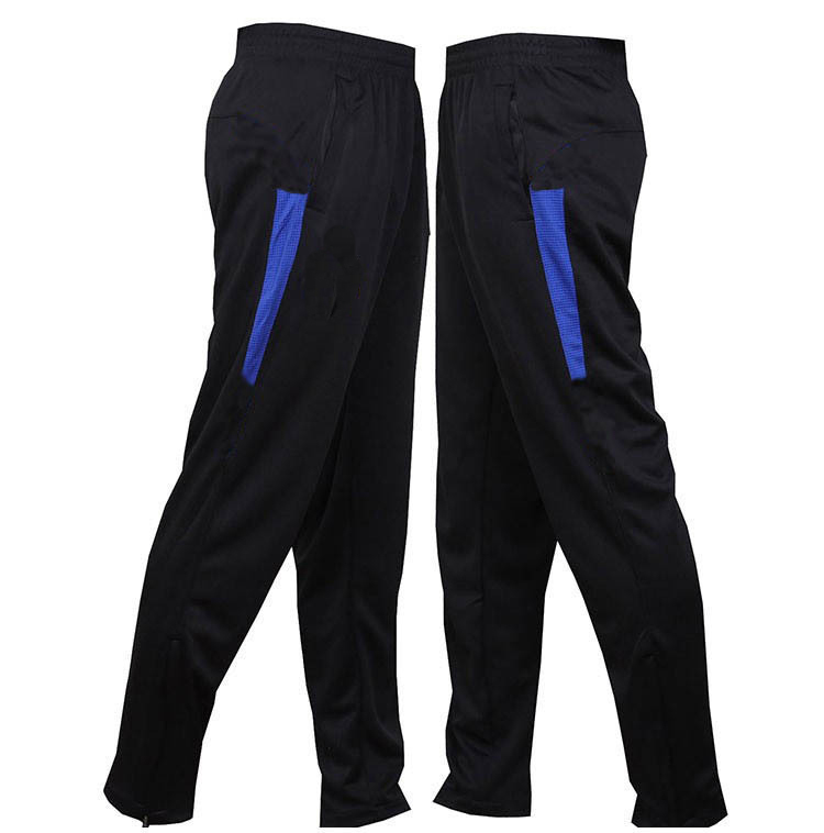 2014 New Inter Milan Men Football Training Pants Skinny Soccer Sweatpants Male Sport Tights Summer Trousers 4XL(China (Mainland))