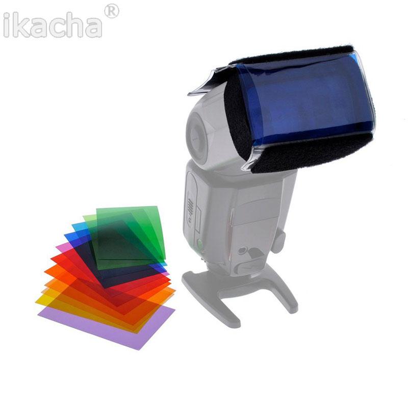 12 color flashlight Lamp shade flash  (1)