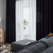 Современные светонепроницаемые шторы ENHAO для Гостиная шторы для спальни, кухни для солидные затемненные шторы, тканевые занавески, ENHAO жалю...(China)