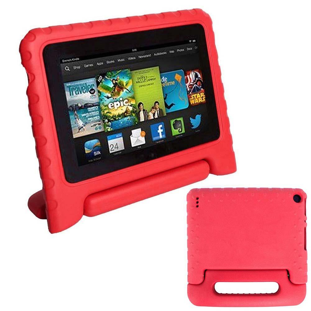 """Kids Shockproof EVA Foam Handle Cases Cover For 7"""" Amazon Kindle Fire Red New(China (Mainland))"""