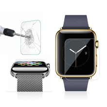 Hot Selling Premium Anti Shatter Tempered Glass Screen Protector Guard Film for Apple Watch 38mm Support Wholesale