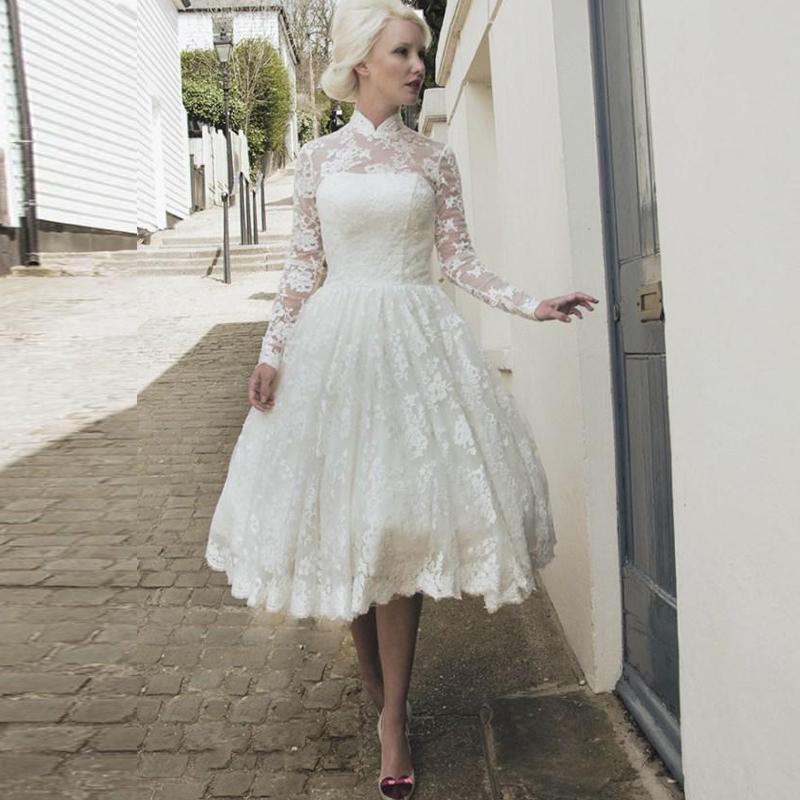 2015-Vintage-Lace-Dresses-High-Neck-Long-Sleeve-Applique-Lace-Tea-Length-Lace-Wedding-Dresses-Autumn.jpg