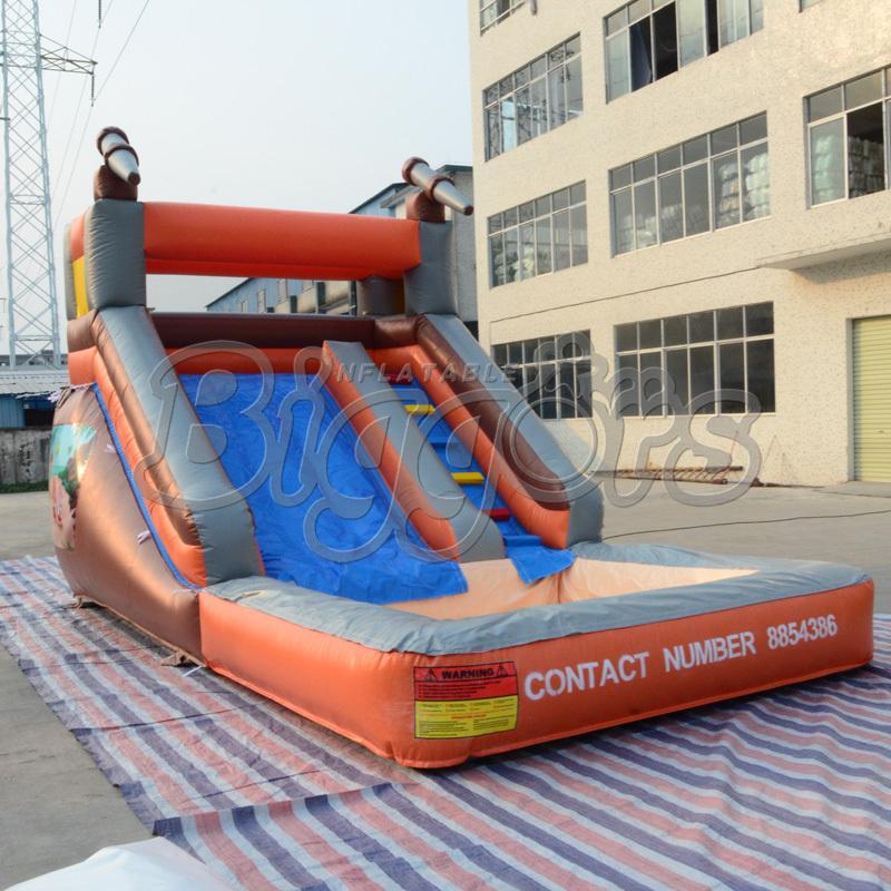 Inflatable Water Slide Port Macquarie: Nouveau Design Géant Double Toboggan Gonflable, Sautant