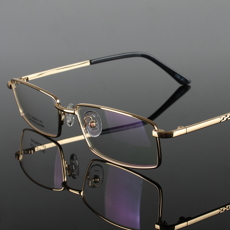 Alloy Frame Eyewear Fashion Male Optical Glasses Full Frame Ultra Light Optical Glasses Frame Men(China (Mainland))