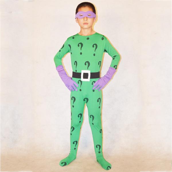 Riddler Costume For Kids For Kids Riddler Costume