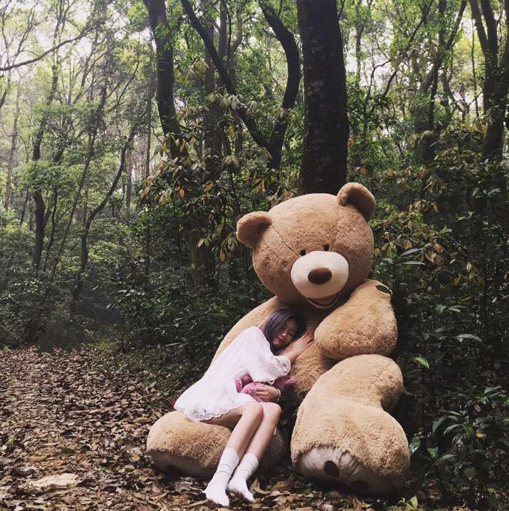 100cm The Giant Teddy Bear Soft Plush Toy Stuffed Animal High Quality kids Toys Birthday Gift Valentine's Day Gifts for women(China (Mainland))