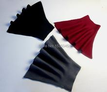 New Style wool skirt Women's Vantage Solid Color Pleated Mini Skirt Cotton Elegant Elastic High Waist Skater Skirt