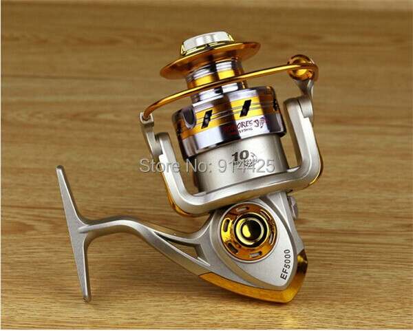 2015 New Arrival Hot 10 BB 1000 7000 Series High Quality Spinning Fishing Reel Fish Wheel