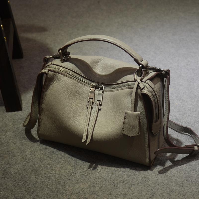2016 Famous Designer Brand Pillow Solid Tassel Totes Bags Woman Genuine Leather Messenger Crossbody Shoulder Handbag