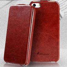 4S/5S SE Capa Slim Vintage Crazy Horse PU Leather Flip Case For Apple iPhone 4 4S/ 5 5S 4G Full Protection Cover Shell Sleeve(China (Mainland))