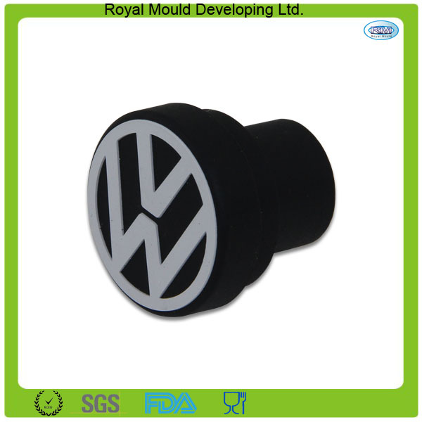 RMplug Black Atuo Car Accessories Dustproof Waterproof Cigarette Lighter 12V Stock Jack Blank Bung Cap Cover Plug For VW(China (Mainland))