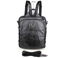 5Pcs/Lot Preppy Style Genuine Leather Backpack School Bag