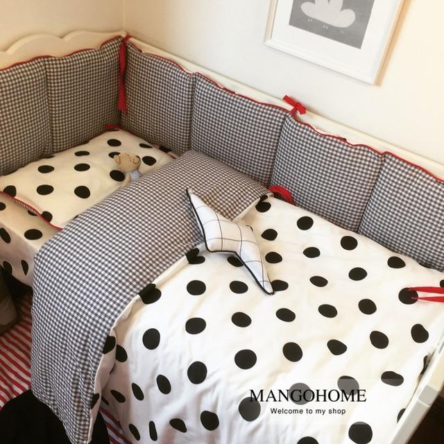 3 шт./компл. детское постельное белье установить детскую кроватку постельных принадлежностей ...