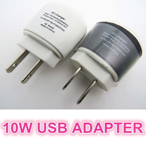 100X 5V 2A 10W USB Power Adapter AC Wall Travel Charger for iPhone 4 4s 5 5c 5s 6 Plus iPad iPod Samsung Android Phone US Plug
