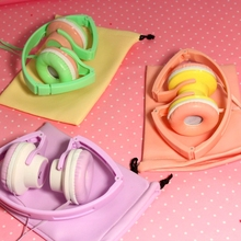 Over Head Boys Girls Kids Childs Teens STEREO DJ Headband Headphones Headset Earphones With Mic For iPhone iPod iPad Call Phone