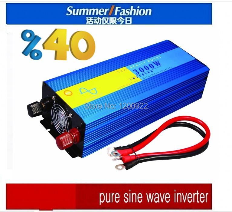 48V 3000W Off-grid Pure Sine Wave Wind Inverter For Wind Energy System ,Output 100-240V 3000W converter onda sinusoidale pura(China (Mainland))