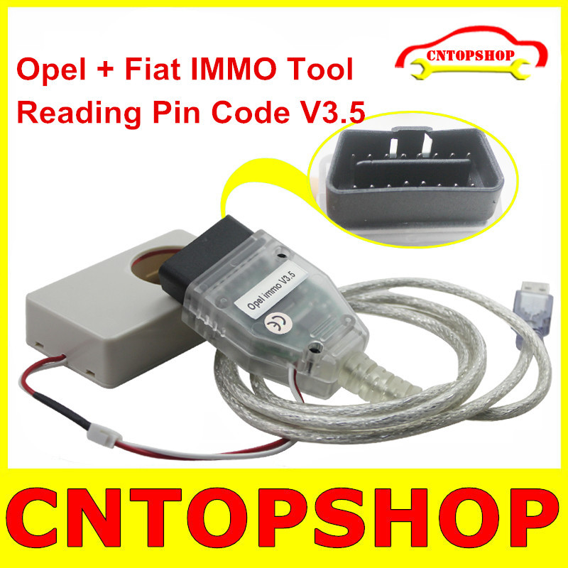 Factory Direct Price Fiat IMMO ECU Engine Programmer Fiat + Opel Immobilizer V3.5 Auto Key Programmer Adding Pin Code Function(China (Mainland))