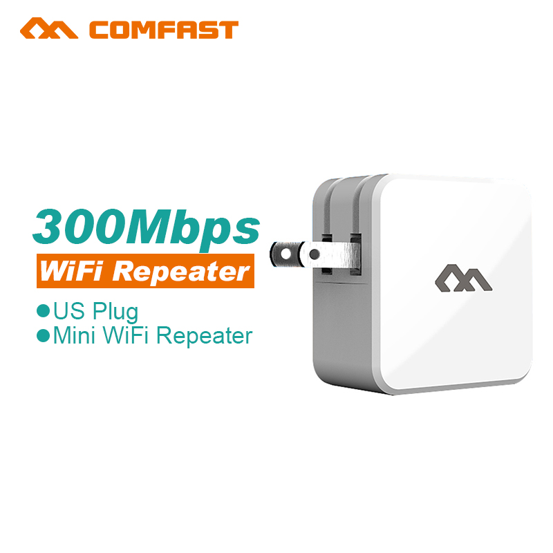 Comfast Wireless WIFI Repeater 300Mbps Network Antenna Wifi Extender Signal Amplifier 802.11n/b/g Signal Booster Repetidor Wifi(China (Mainland))