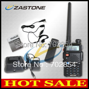 Updated BAOFENG UV-5R Dual Band Transceiver 136-174Mhz & 400-520Mhz Two Way Radio with 1800mAH Battery free earphone(China (Mainland))