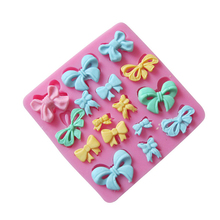 1PC Butterfly Bow Chocolate Candy Jello Silicone Mold Mould Cake Tools Bakeware Sugarcraft Cake Decorating Tools UouiP(China (Mainland))