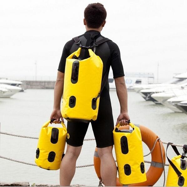 1 шт. путешествие сухой сумки водонепроницаемый мешок рафтинг мешок 25 L 35 L 60 ...