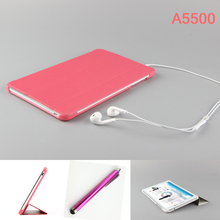hot! original Business lenovo A5500 case for Lenovo 5500 Tab A8-50 A5500 8 inch Tablet pc Protective cover +Pen