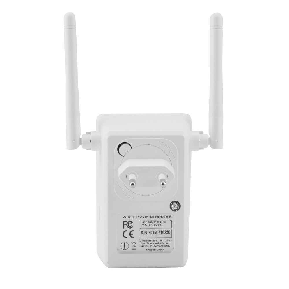300mbps Wifi Repeater Network Range Extender Booster N300