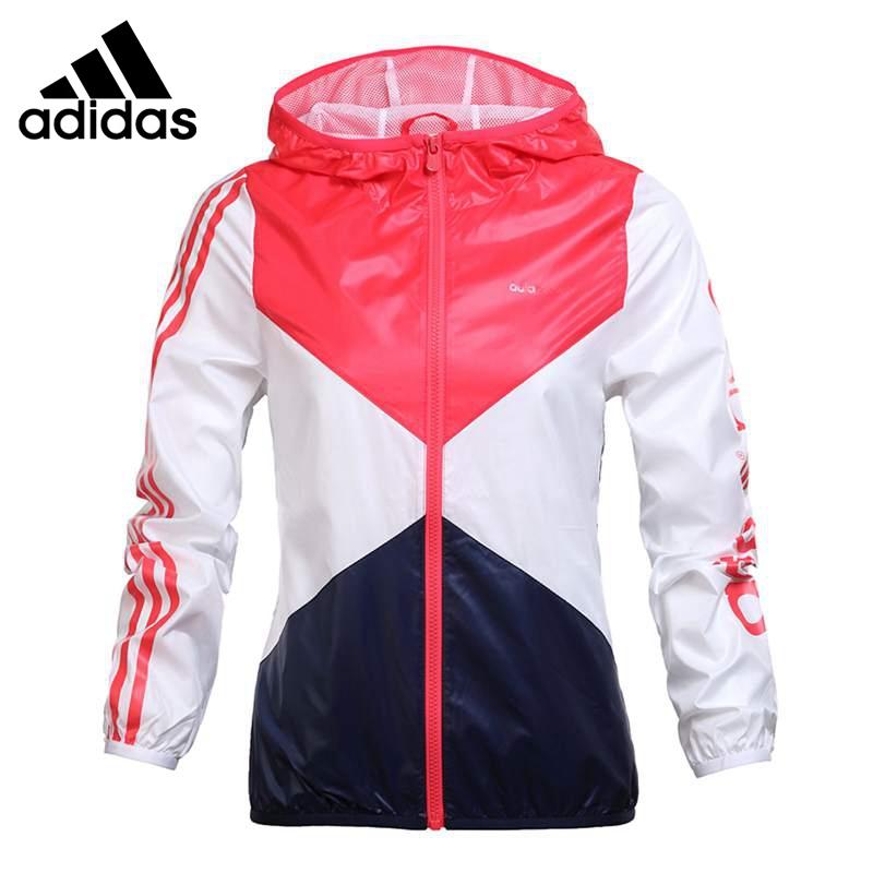 Original New Arrival 2016 Adidas NEO Label  Women's  jacket Hooded Sportswear free shipping