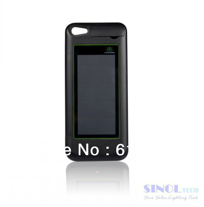 For Iphone 5 Backup Solar Battery Case Photovoltaic Solar Cells ...