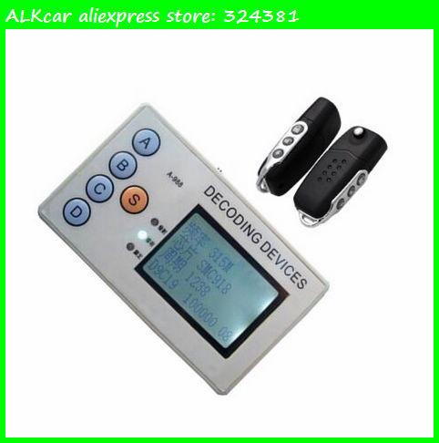 ALKcar universal radio remote control signal receiver detector wireless remote control copier + 2 self-learning remote key A336(China (Mainland))