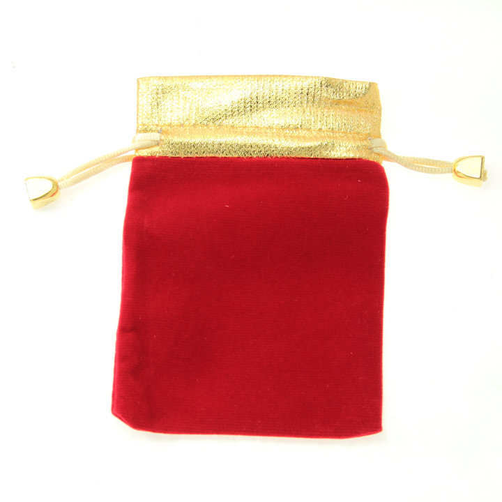 100pcs Drawable Organza Wedding Gift Bags&amp;Pouches Jewelry Bags Black Red 9*12cm<br><br>Aliexpress