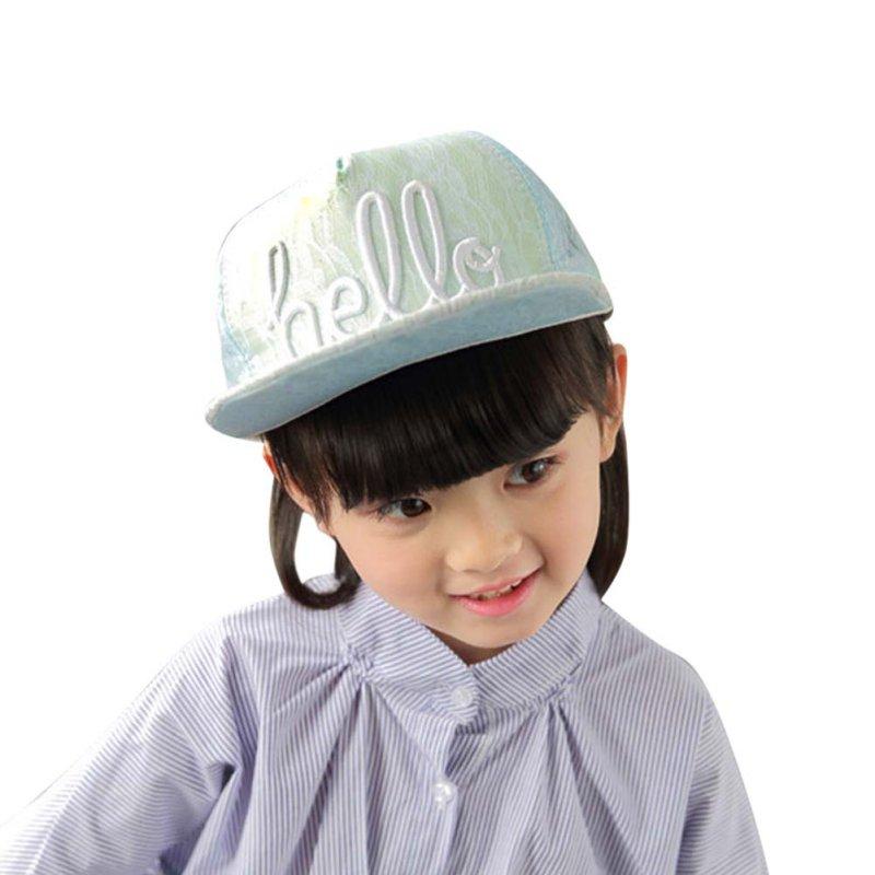 Children Letter Baseball Cap Kid Boys And Girls Adjustable Baseball Cap 3-8 Years Baby Baseball Hat(China (Mainland))